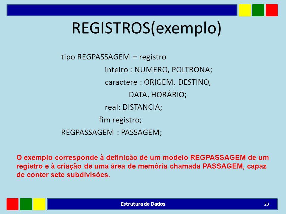 REGISTROS(exemplo)