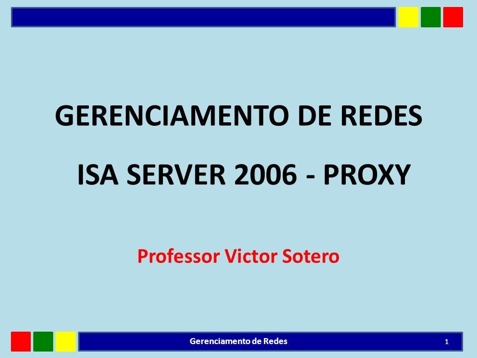 GERENCIAMENTO DE REDES