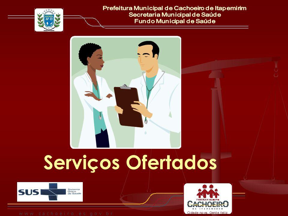 Serviços Ofertados Prefeitura Municipal de Cachoeiro de Itapemirim
