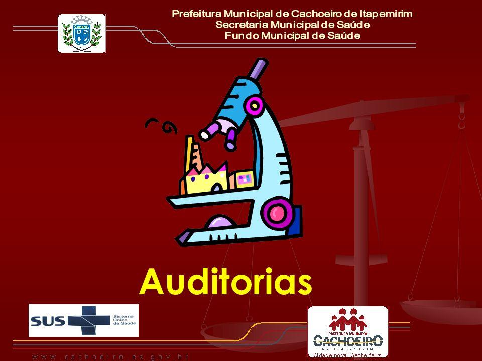 Auditorias Prefeitura Municipal de Cachoeiro de Itapemirim