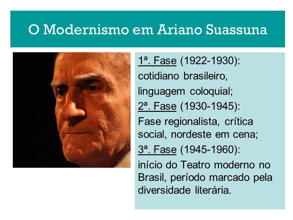 O Modernismo em Ariano Suassuna
