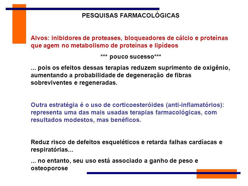 PESQUISAS FARMACOLÓGICAS