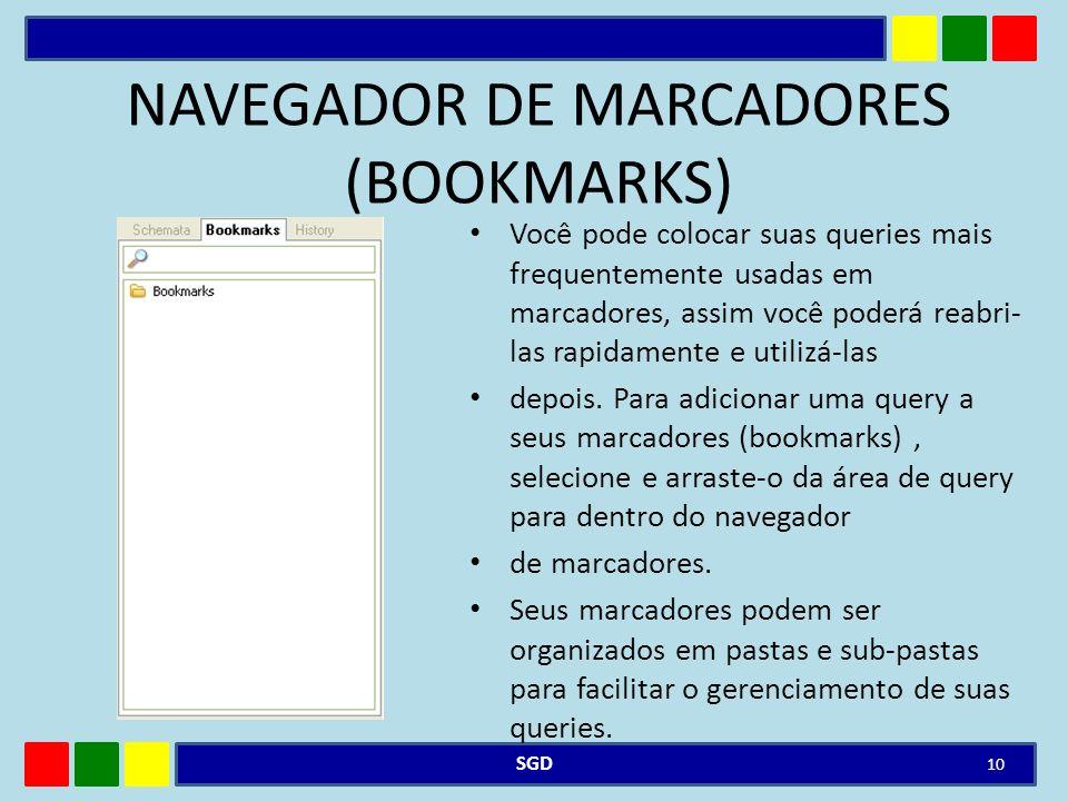 NAVEGADOR DE MARCADORES (BOOKMARKS)