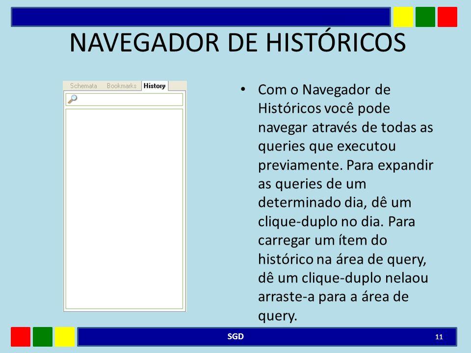NAVEGADOR DE HISTÓRICOS