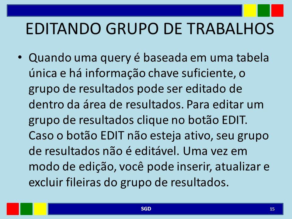 EDITANDO GRUPO DE TRABALHOS
