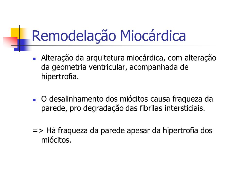 Remodelação Miocárdica