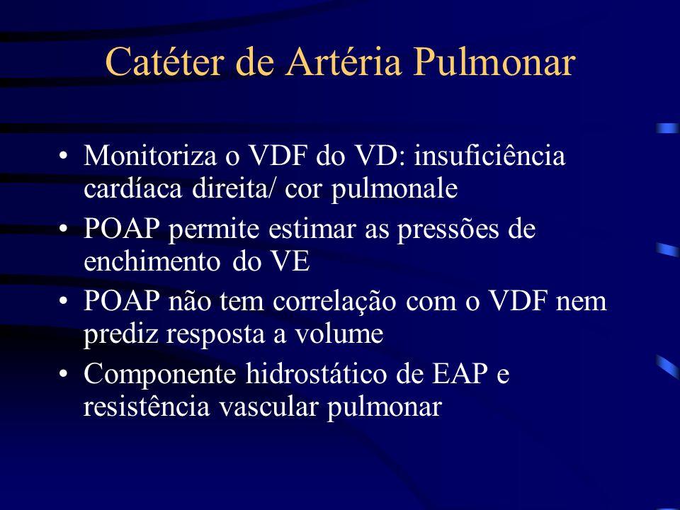 Catéter de Artéria Pulmonar
