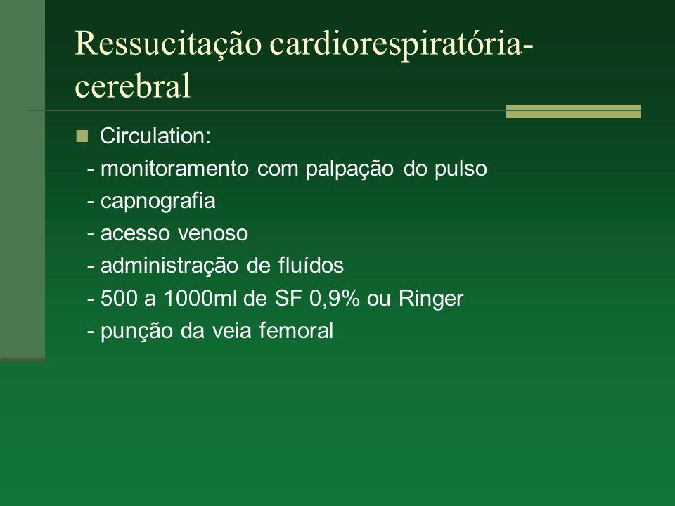 Ressucitação cardiorespiratória-cerebral