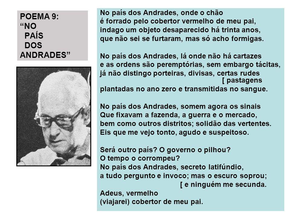 POEMA 9: NO PAÍS DOS ANDRADES