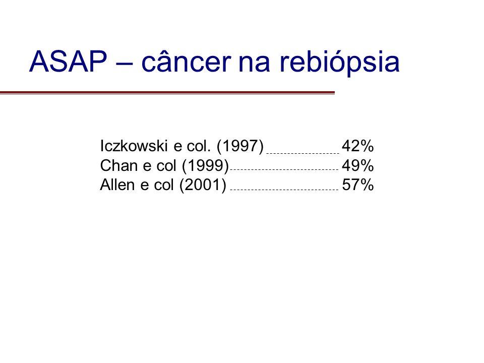 ASAP – câncer na rebiópsia