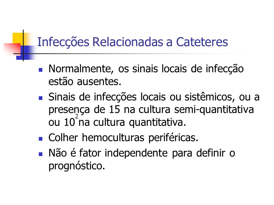 Infecções Relacionadas a Cateteres