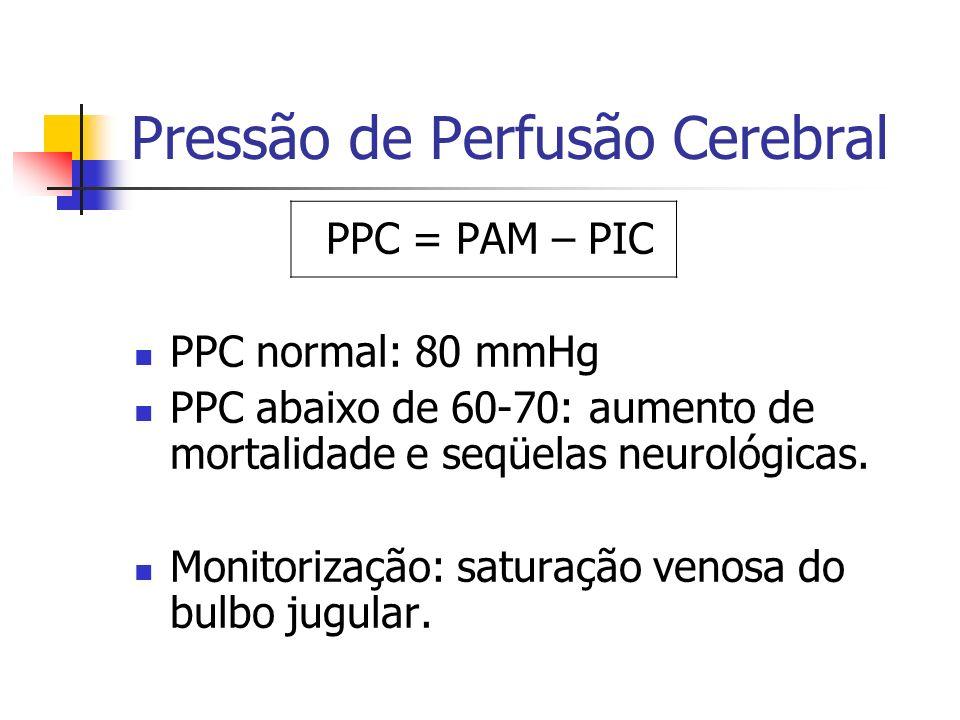 Pressão de Perfusão Cerebral