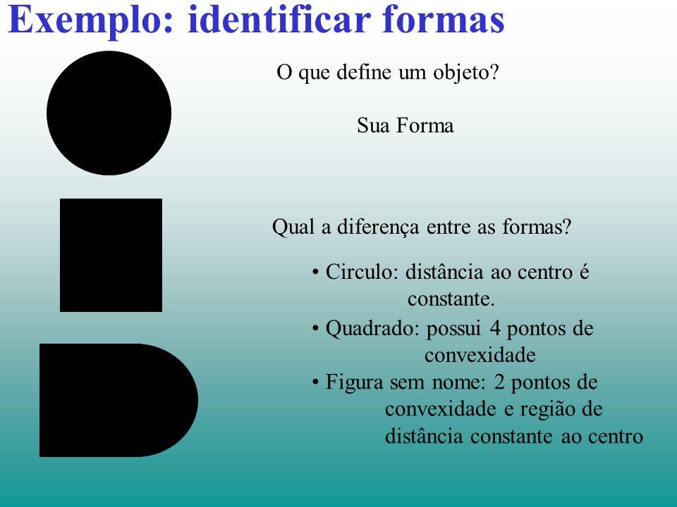 Exemplo: identificar formas