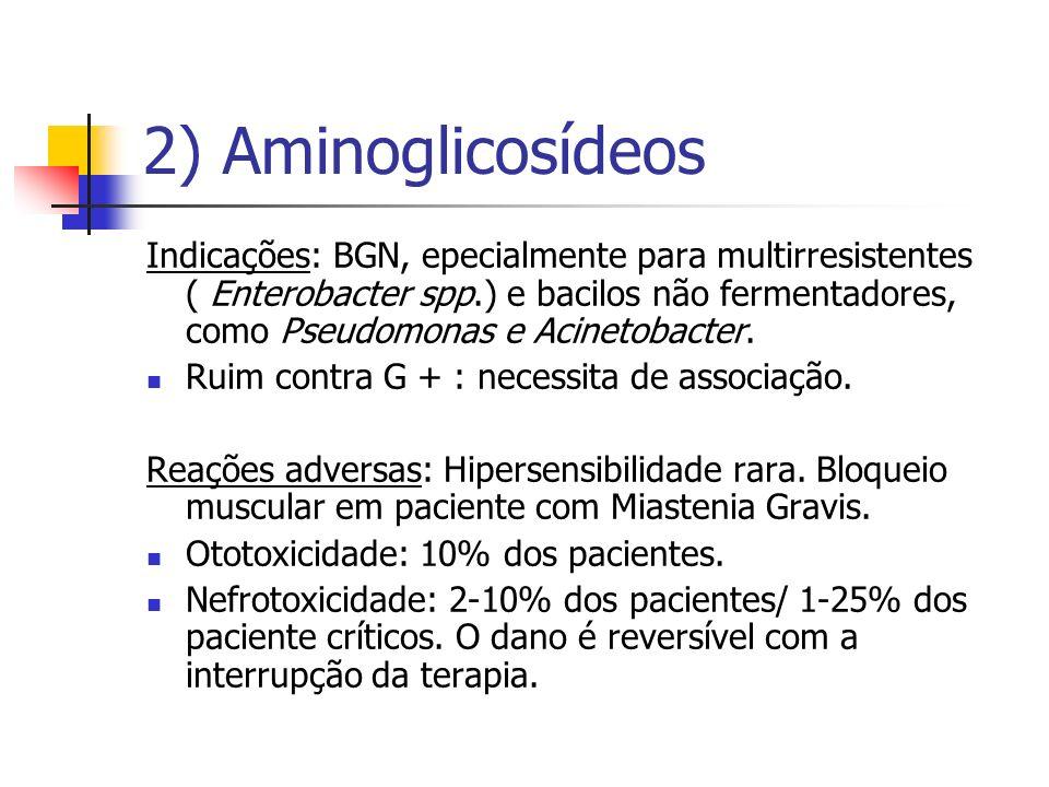 2) Aminoglicosídeos
