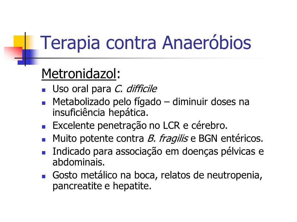 Terapia contra Anaeróbios