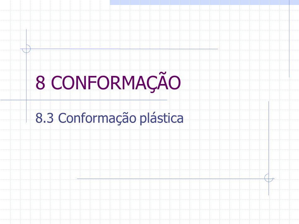 8 CONFORMAÇÃO 8.3 Conformação plástica