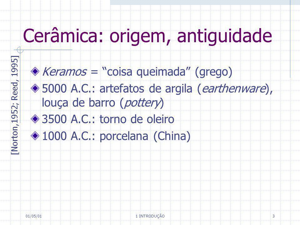 Cerâmica: origem, antiguidade