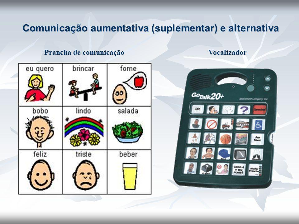Comunicação aumentativa (suplementar) e alternativa