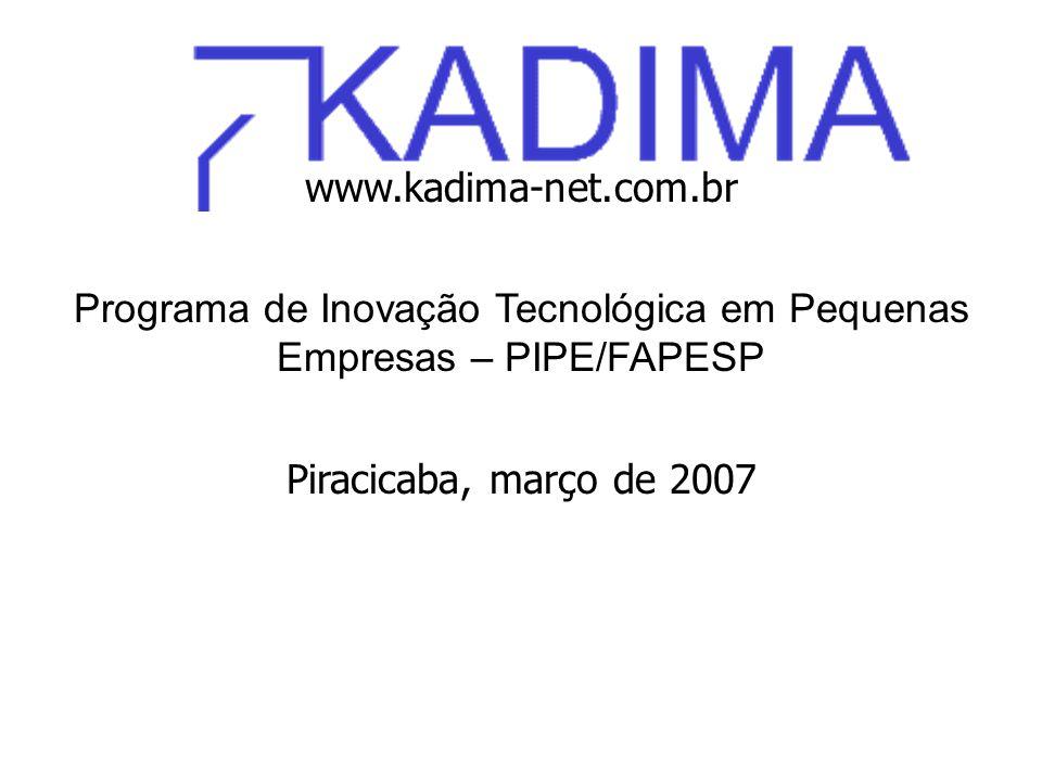 Programa de Inovação Tecnológica em Pequenas Empresas – PIPE/FAPESP