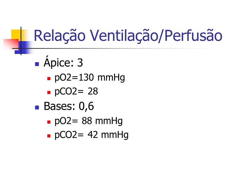Relação Ventilação/Perfusão