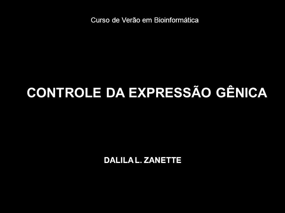 CONTROLE DA EXPRESSÃO GÊNICA