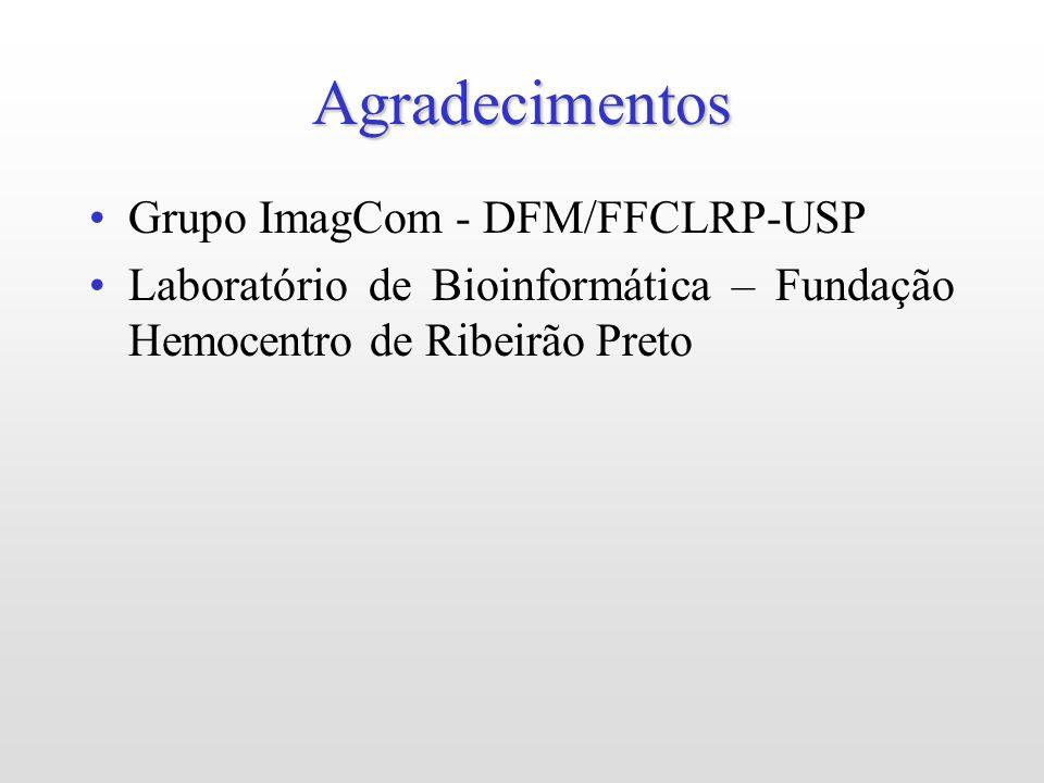 Agradecimentos Grupo ImagCom - DFM/FFCLRP-USP