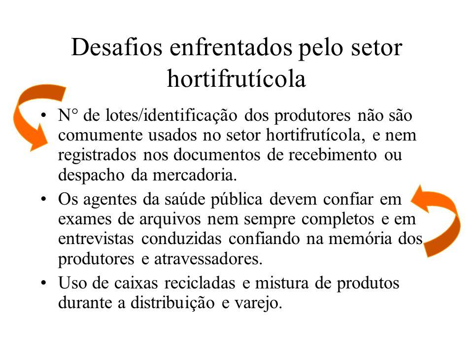 Desafios enfrentados pelo setor hortifrutícola