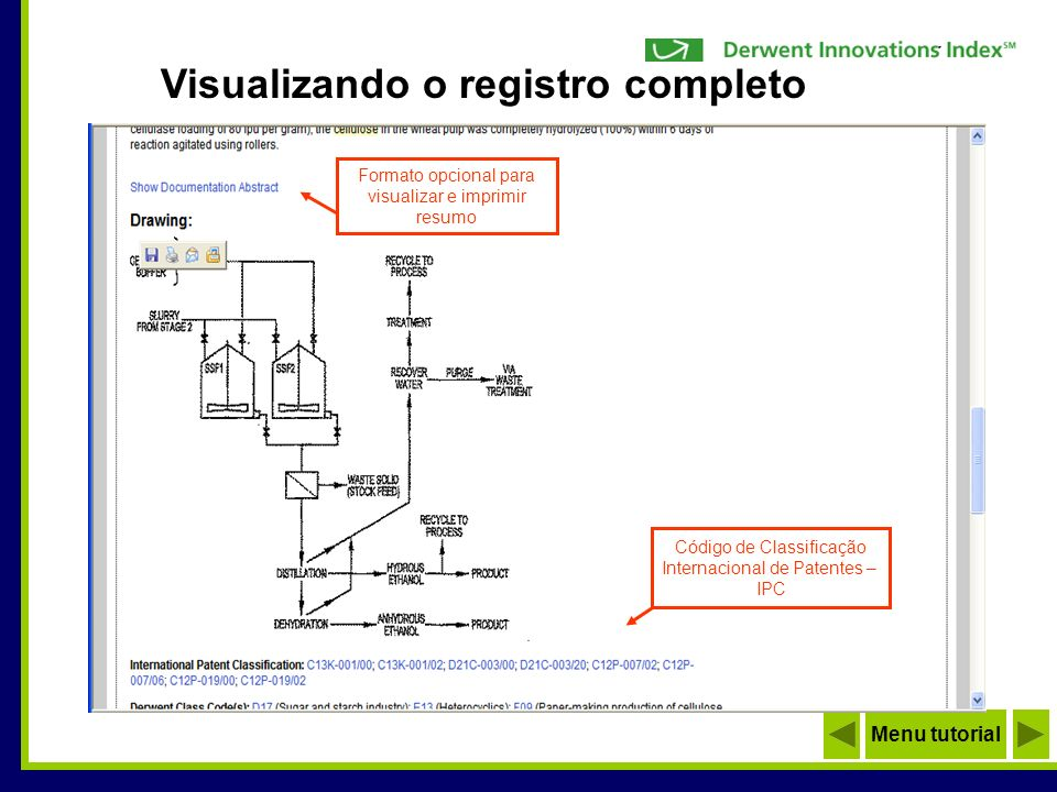 Visualizando o registro completo