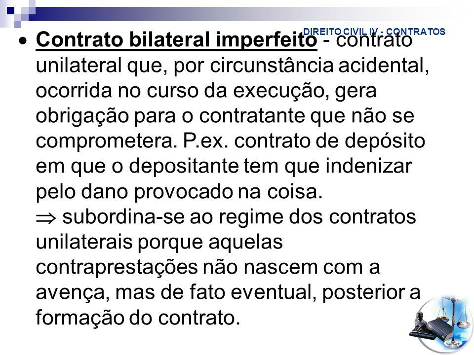 DIREITO CIVIL IV - CONTRATOS