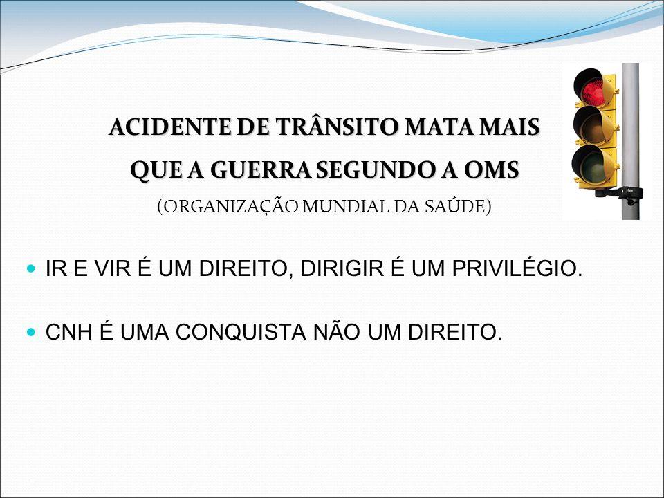 ACIDENTE DE TRÂNSITO MATA MAIS