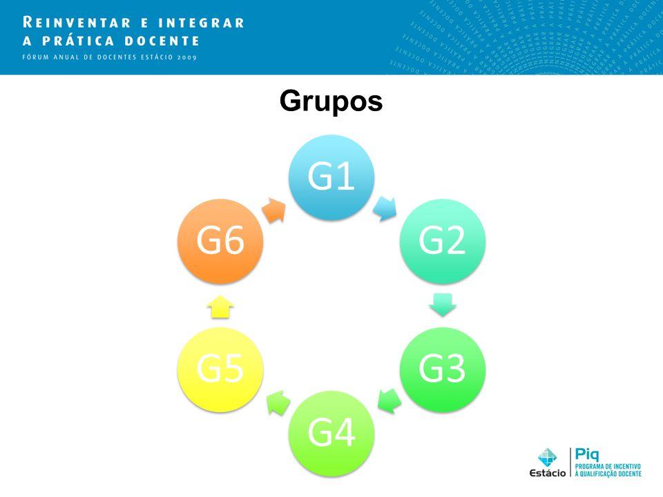 Grupos G1 G2 G3 G4 G5 G6