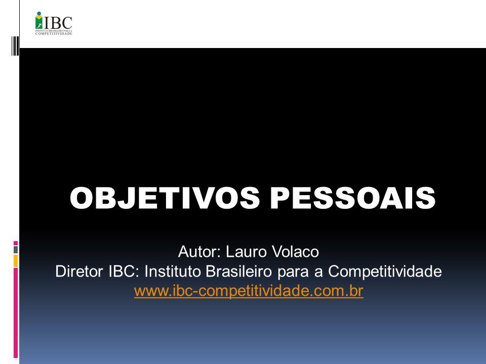 Diretor IBC: Instituto Brasileiro para a Competitividade
