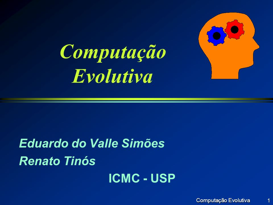 Eduardo do Valle Simões Renato Tinós ICMC - USP