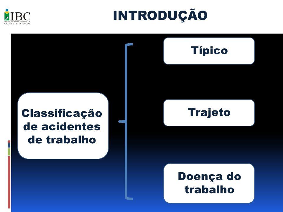Classificação de acidentes de trabalho