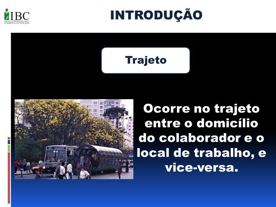 INTRODUÇÃO Trajeto.
