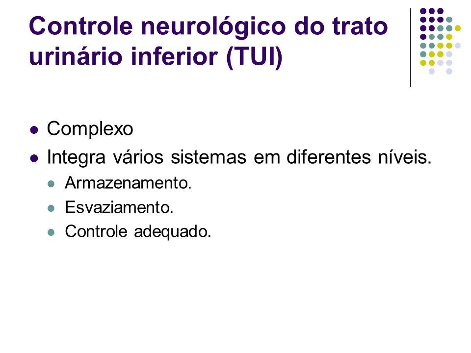 Controle neurológico do trato urinário inferior (TUI)