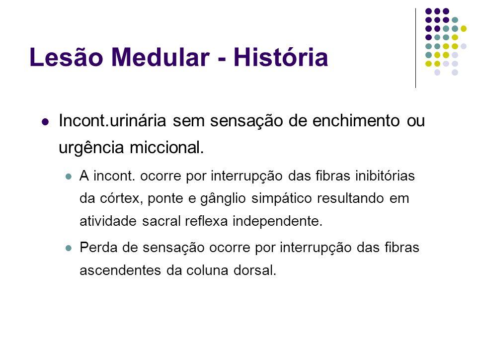 Lesão Medular - História