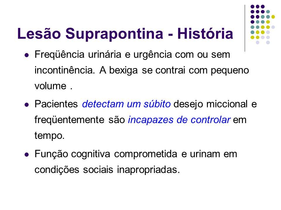 Lesão Suprapontina - História