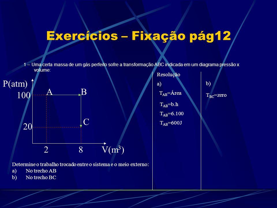 Exercícios – Fixação pág12