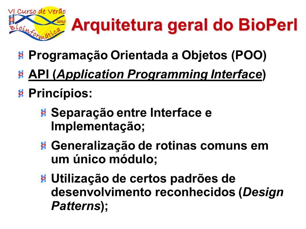 Arquitetura geral do BioPerl