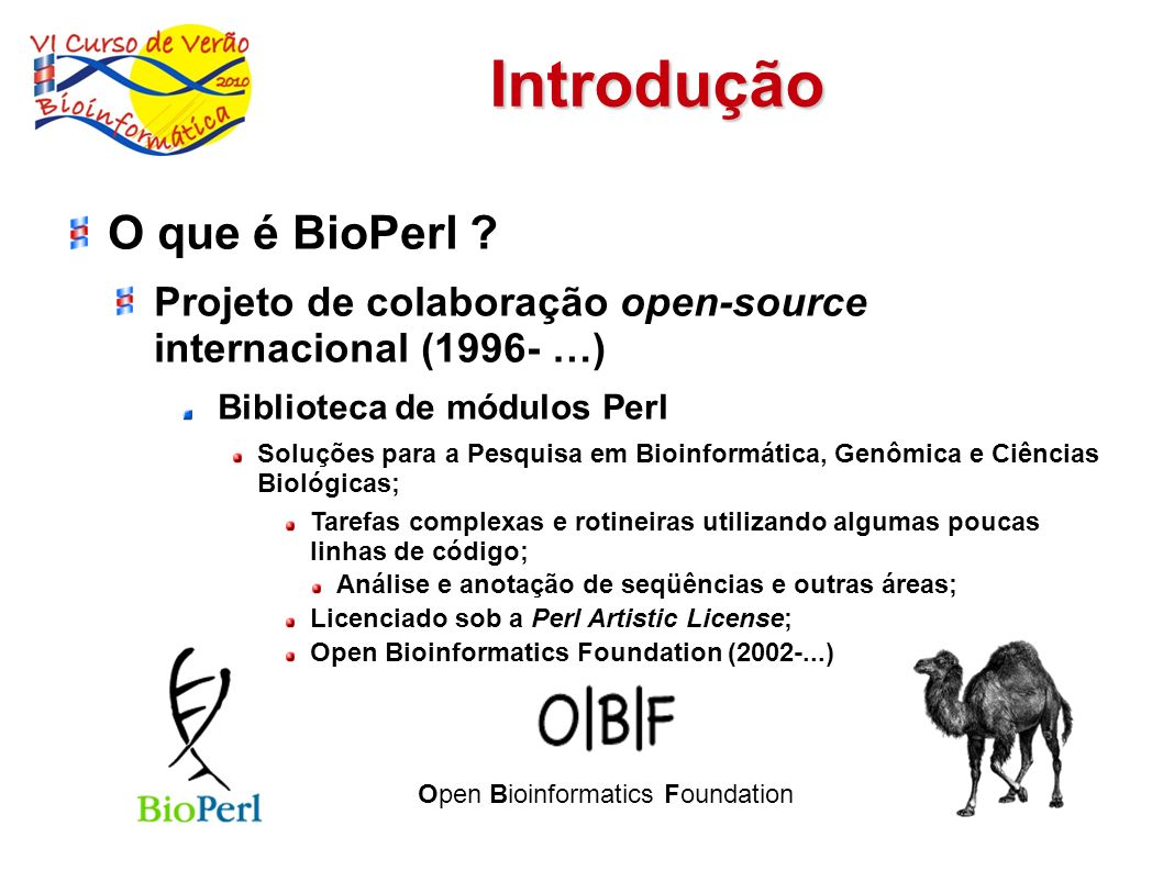 Open Bioinformatics Foundation