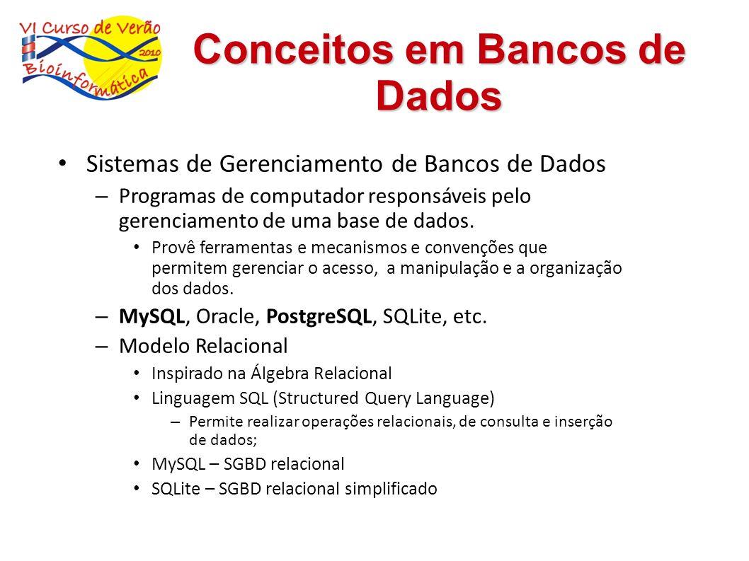 Conceitos em Bancos de Dados