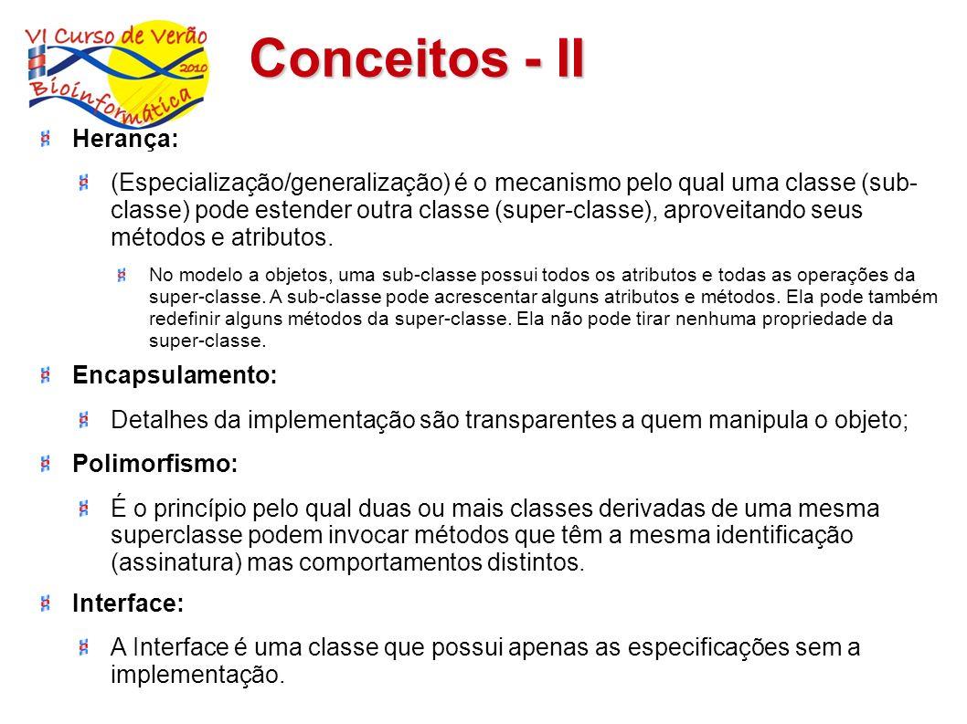 Conceitos - II Herança: