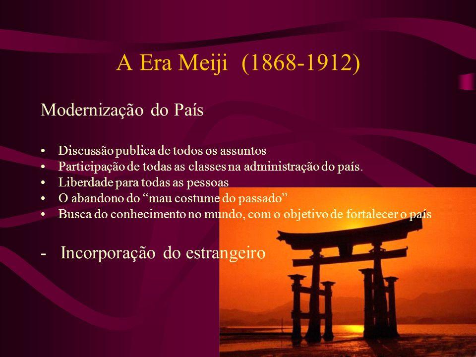 A Era Meiji (1868-1912) Modernização do País