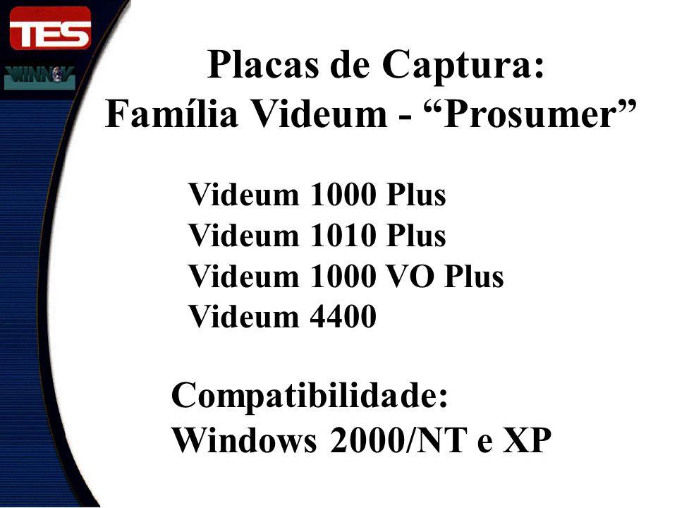 Família Videum - Prosumer