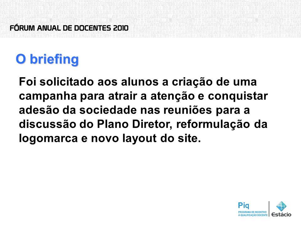 O briefing