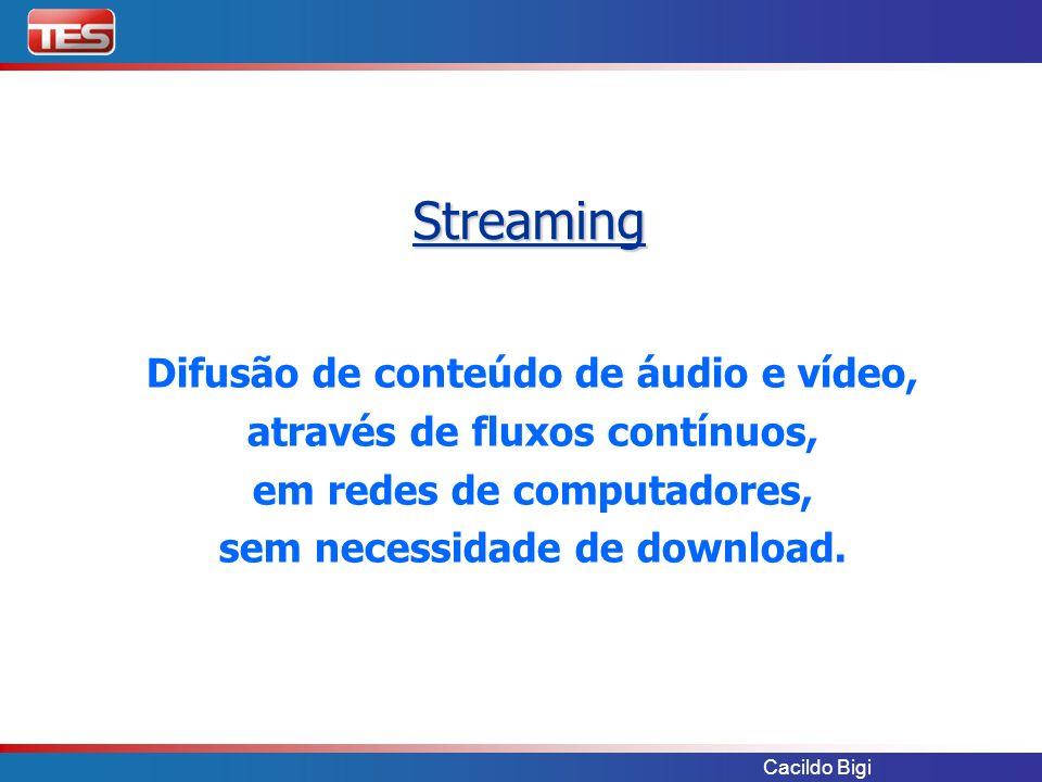 Streaming Difusão de conteúdo de áudio e vídeo,
