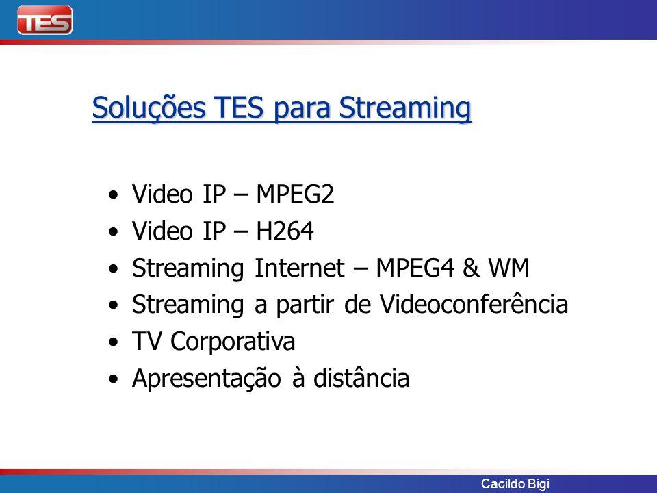 Soluções TES para Streaming