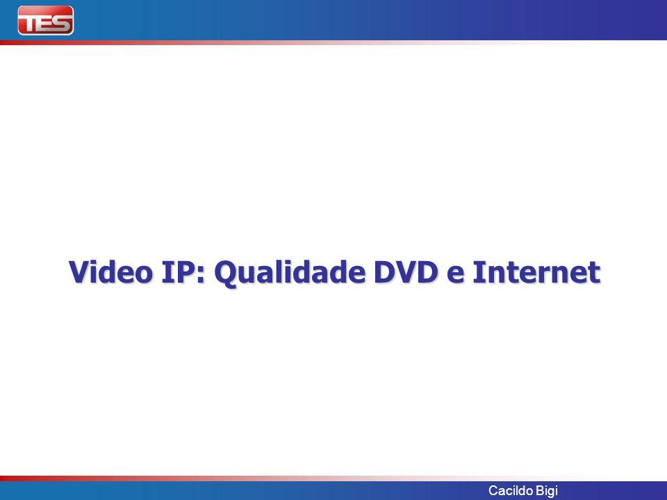 Video IP: Qualidade DVD e Internet