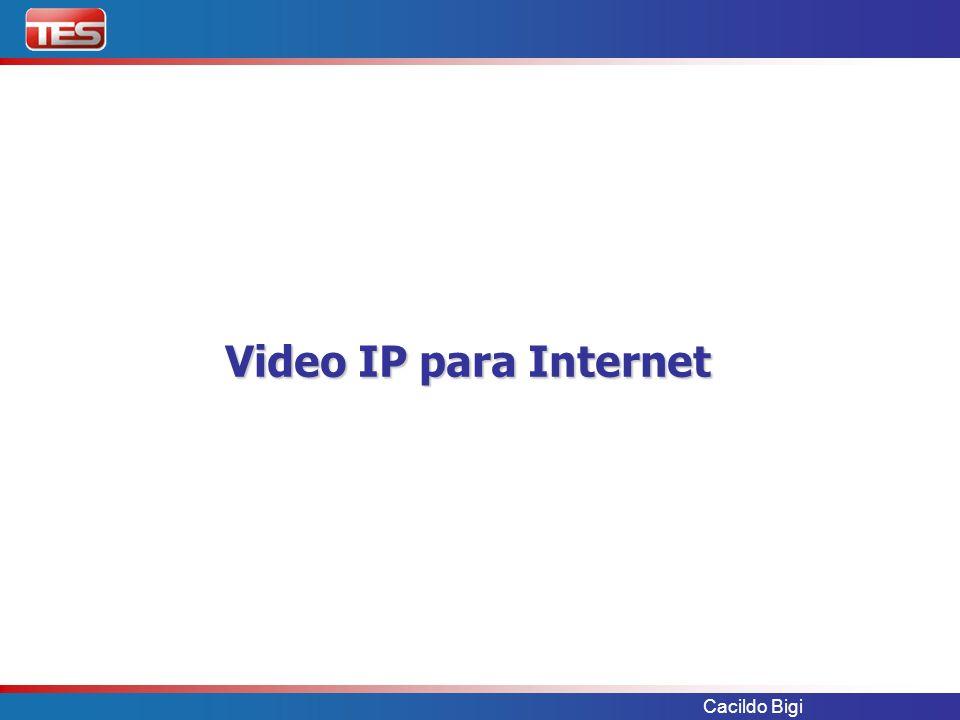 Video IP para Internet Cacildo Bigi